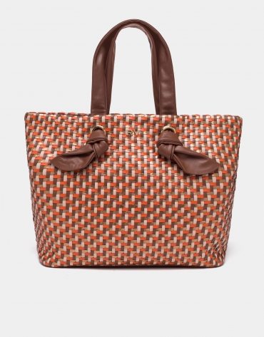 Coffee Laia maxi-shopping bag