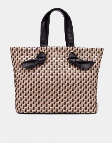 Black Laia maxi-shopping bag
