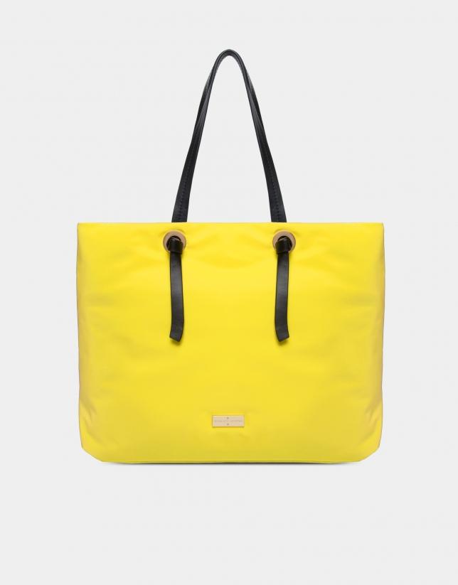 Yellow Cloud shopping bag