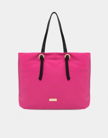 Fuchsia Cloud shopping bag