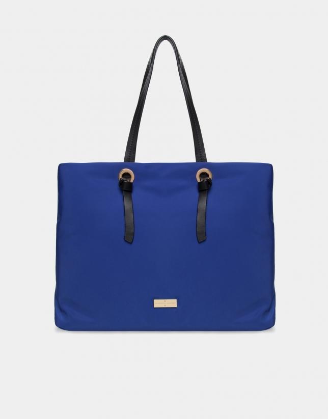 Sapphire shopping bag