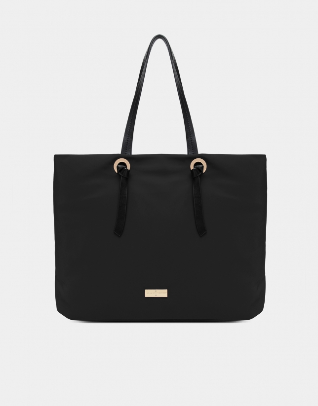 Black Cloud shopping bag