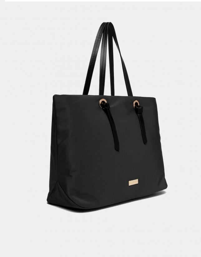 Black Cloud shopping bag