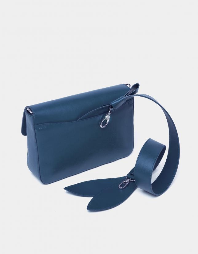 Bolso bandolera Tie Joyce azul capri