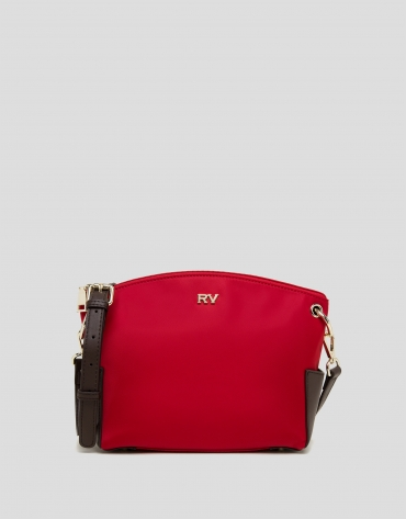 Red Nano Candem leather shoulder bag