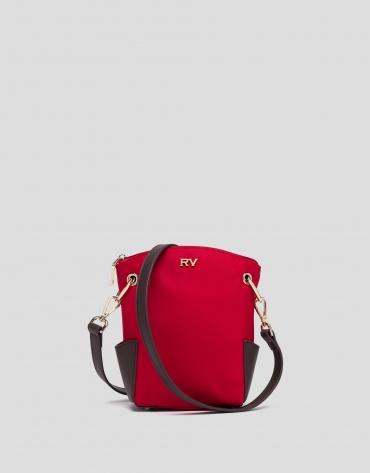 Red mini Candem leather shoulder bag