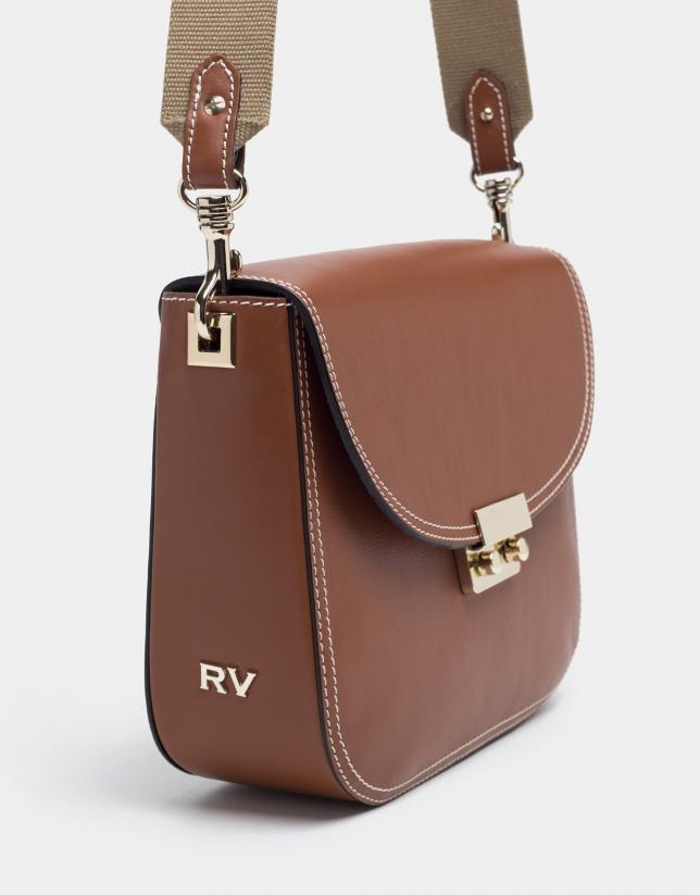 Brown Alex shoulder bag
