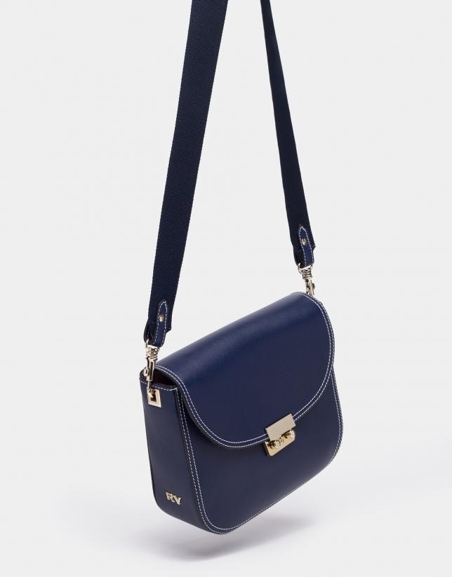Blue Alex shoulder bag