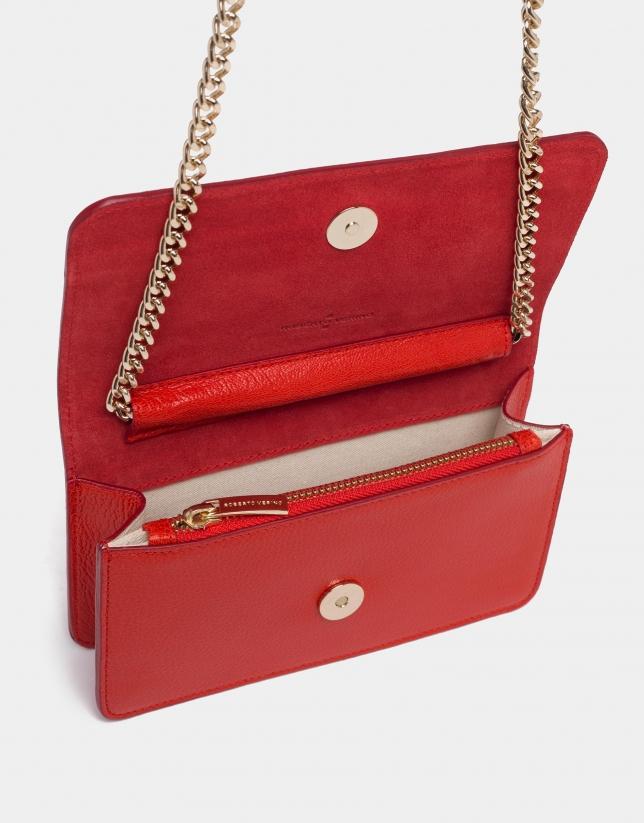 Red Paula shoulder bag