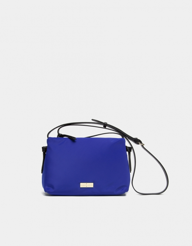 Sapphire blue Cloud shoulder bag