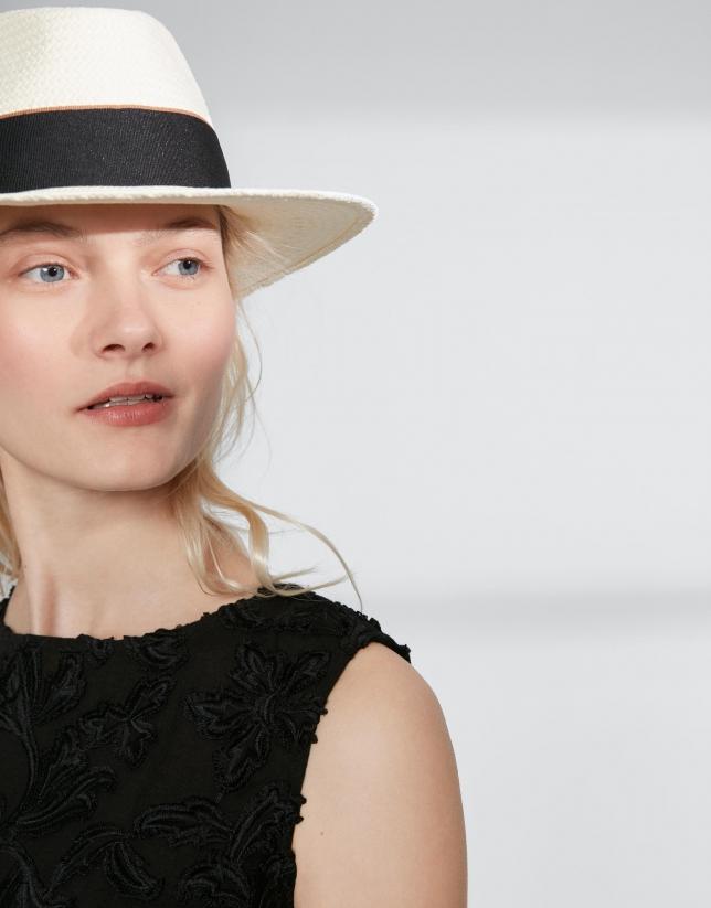 Sombrero fibra natural