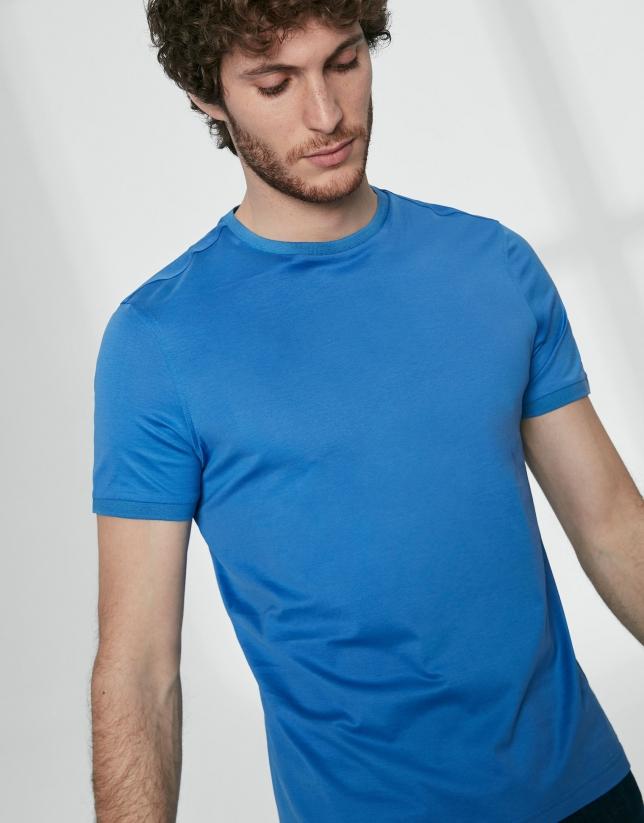 Basic blue top