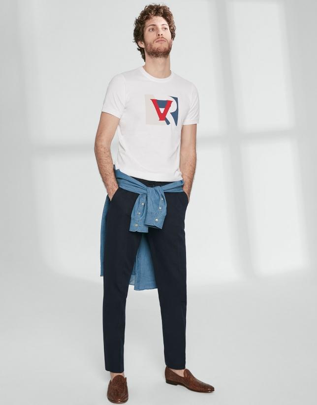 Camiseta logo RV color block