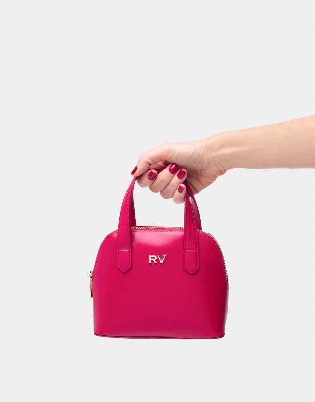 Mini sac à main Noa fuchia