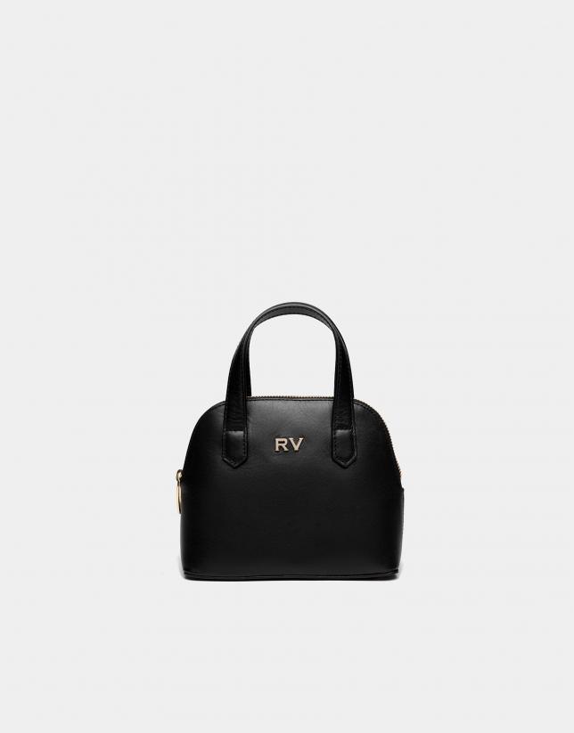 Bolso de mano mini Noa negro