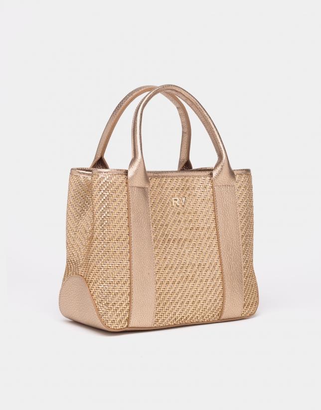 Gold Muriel handbag