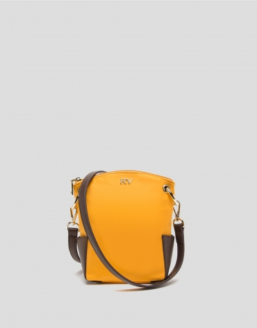 Mustard mini Candem leather shoulder bag