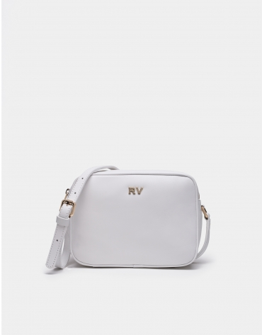White Taylor shoulder bag