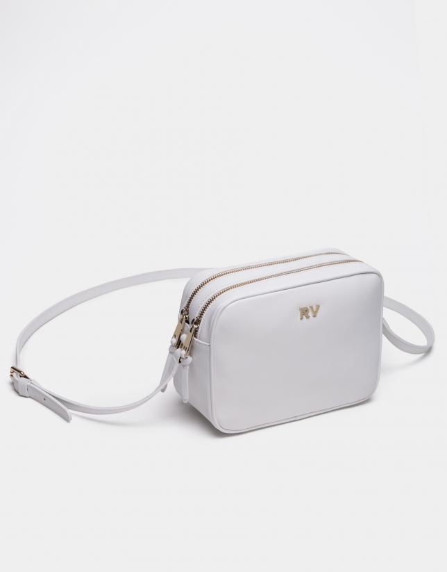 White Taylor shoulder bag