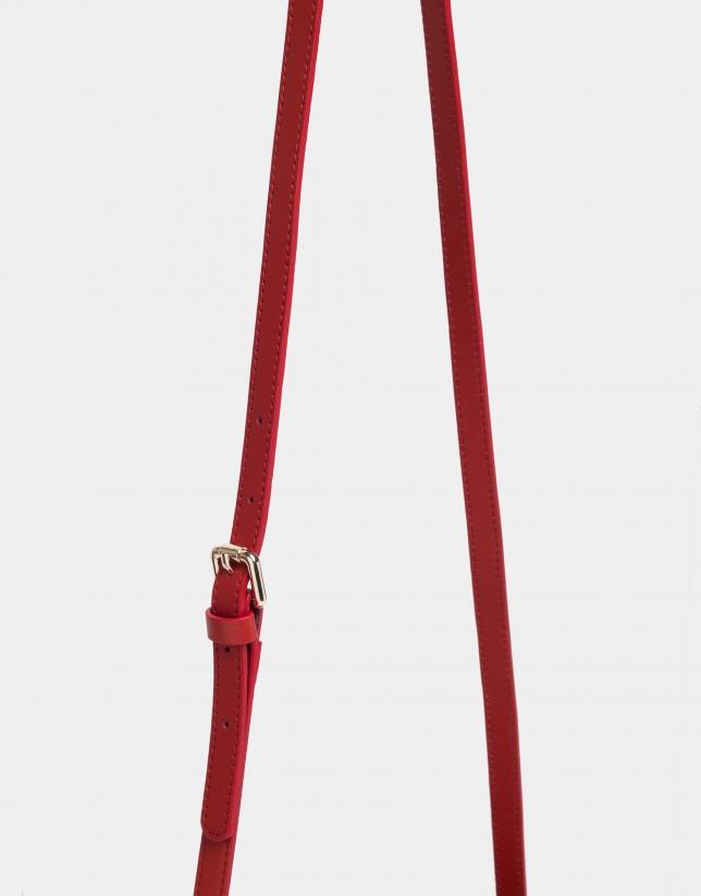 Red Taylor shoulder bag