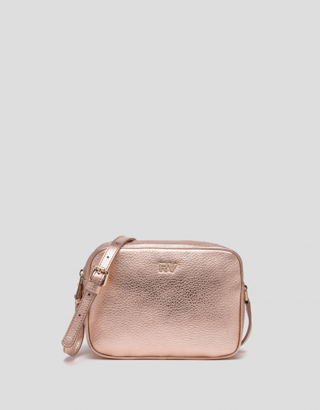 Pink gold Taylor shoulder bag