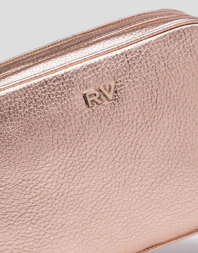 Pink gold Taylor shoulder bag
