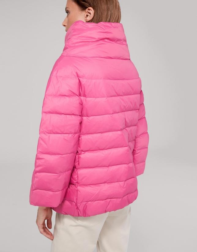 Veste matelassée rose