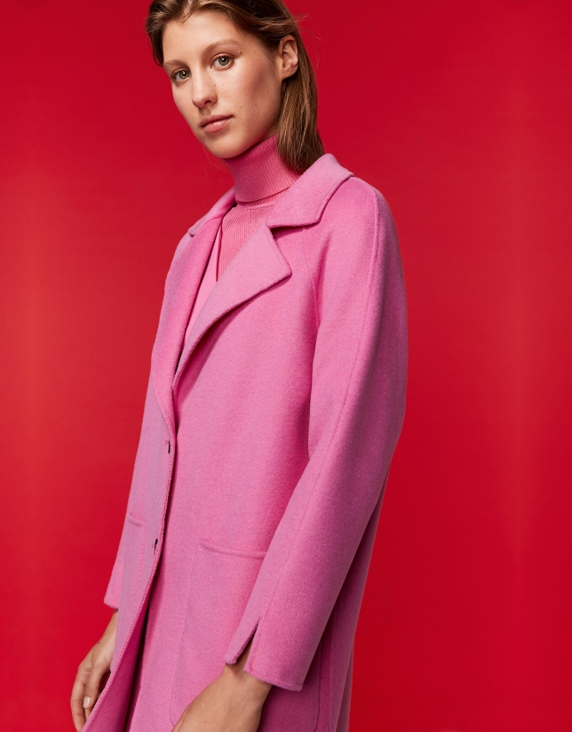 Long petunia coat