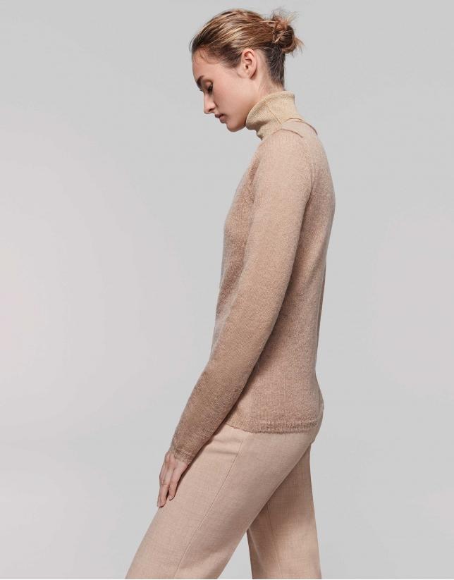Hazel wool/mohair cardigan with V-neck