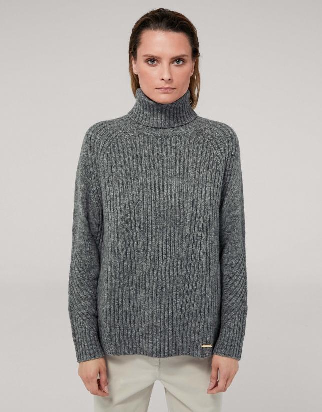 Jersey oversize gris marengo