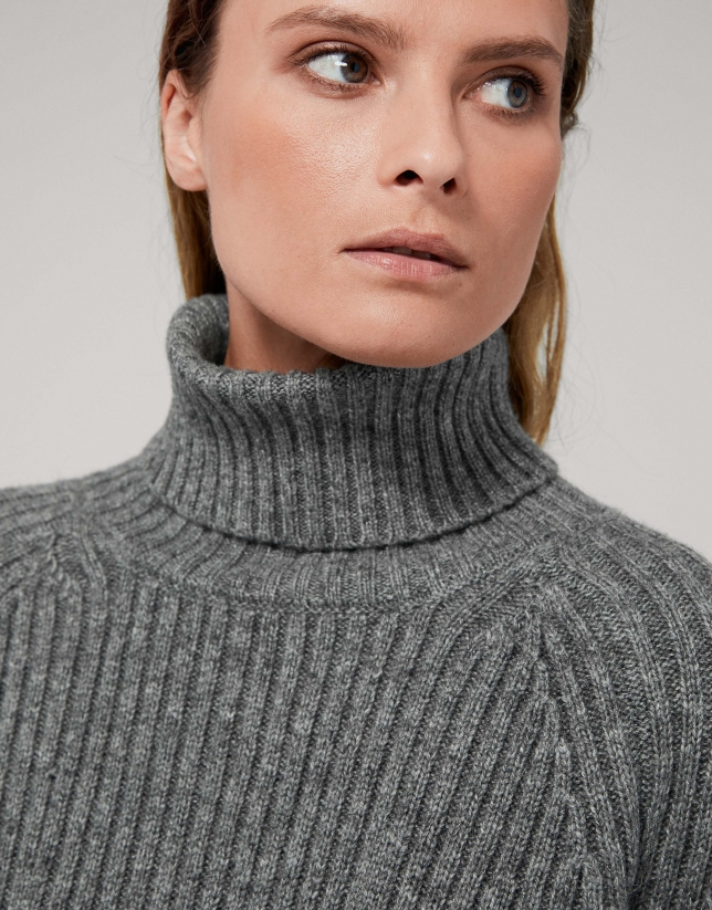 Gray marengo oversize sweater
