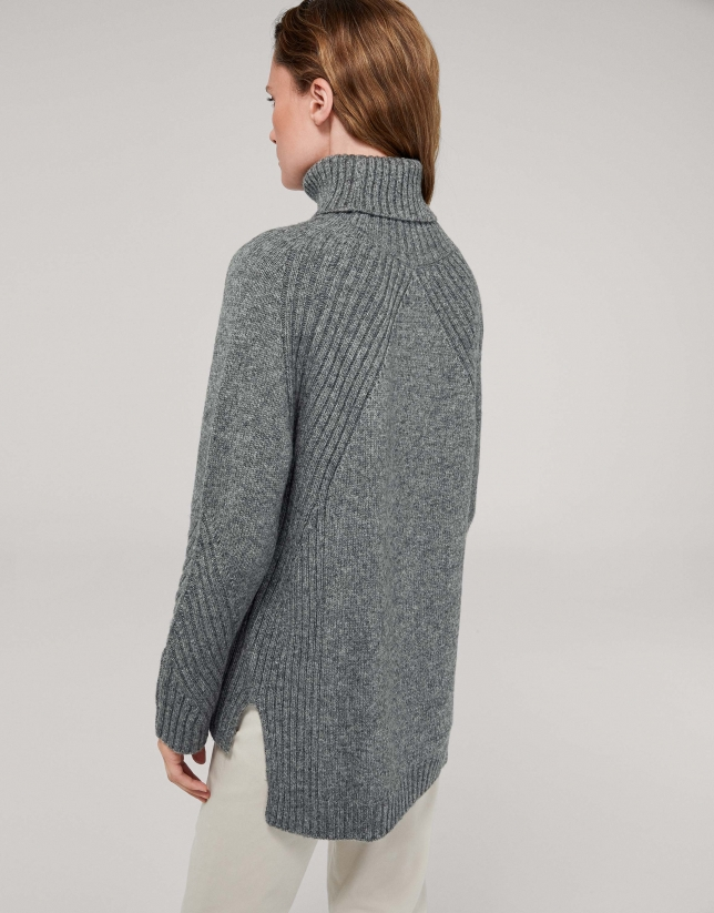 Gray marengo oversize sweater