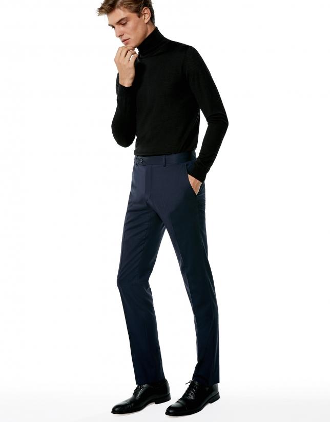 Pantalon habillé bleu marine