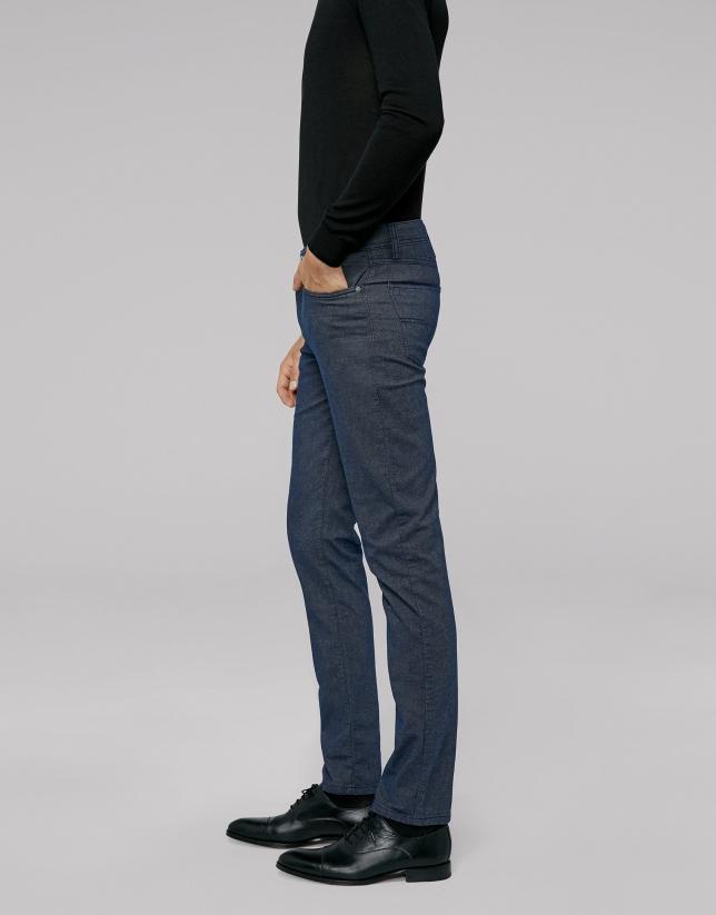 Pantalón cinco bolsillos azul oscuro