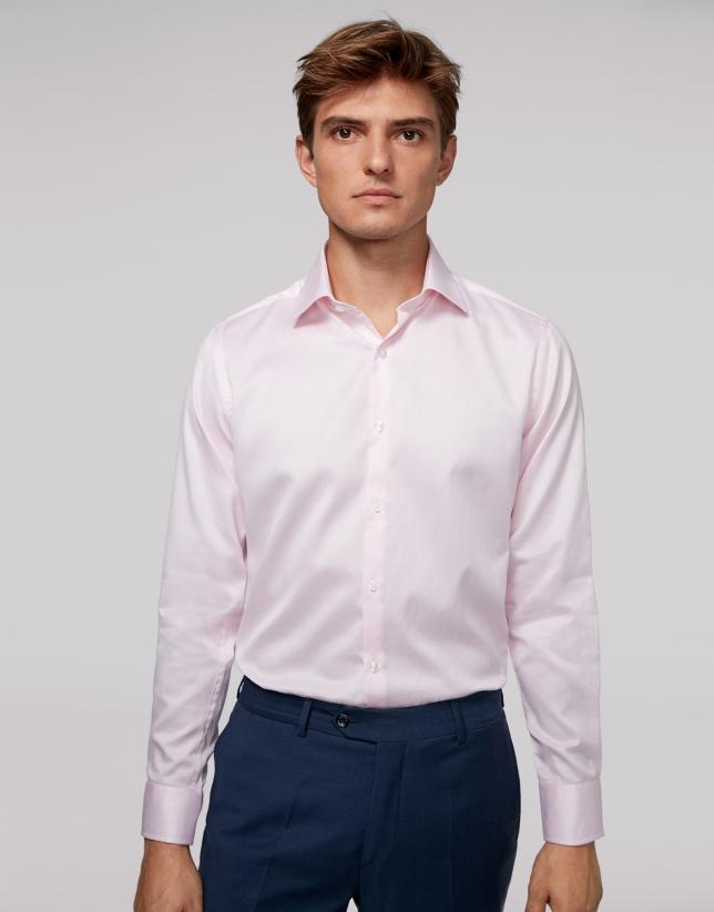Pink diamond dress shirt