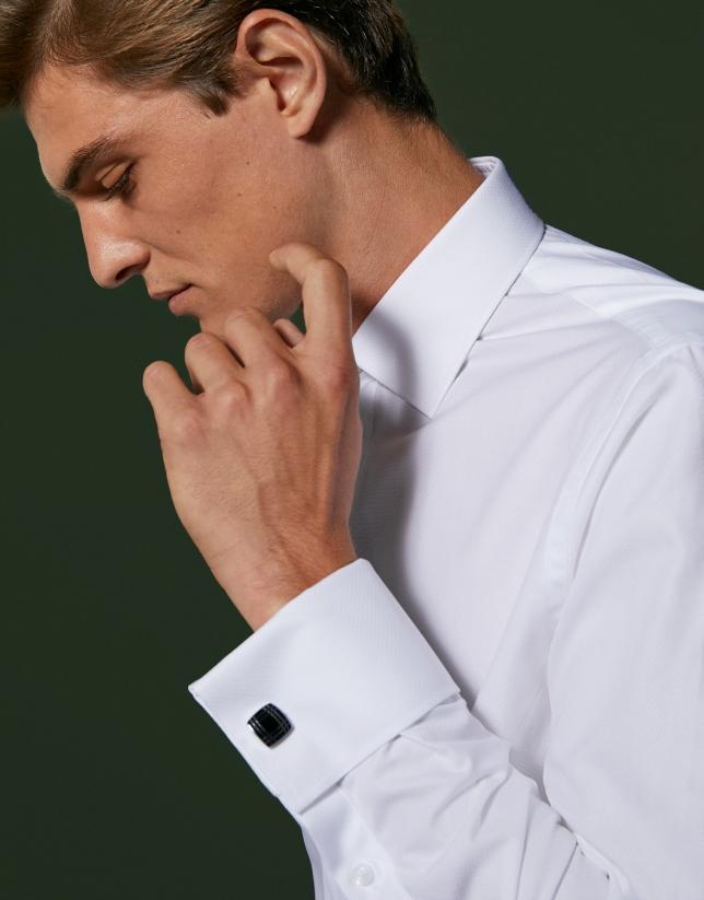 Chemise de cérémonie blanche