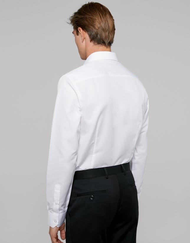 Camisa regular easy care blanco