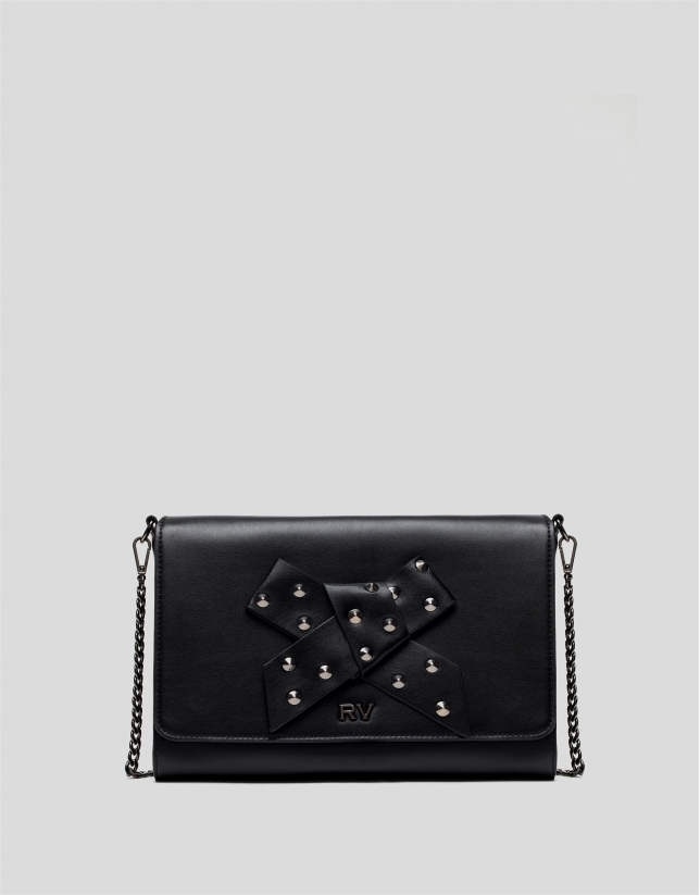 Sac Being Moma sac en cuir noir