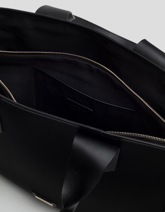 Bolso shopper maxi Neox neopreno negro