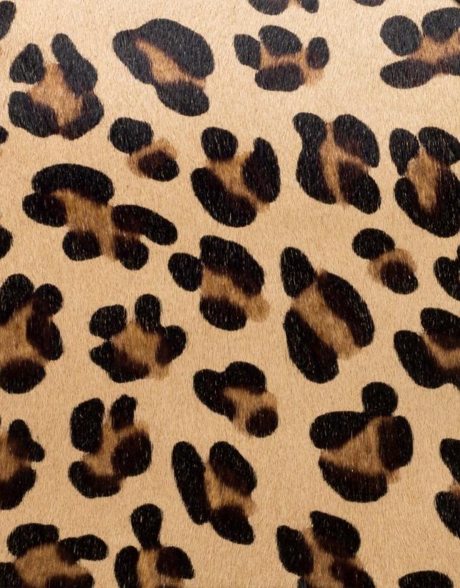 Bolso clutch Wild animal print