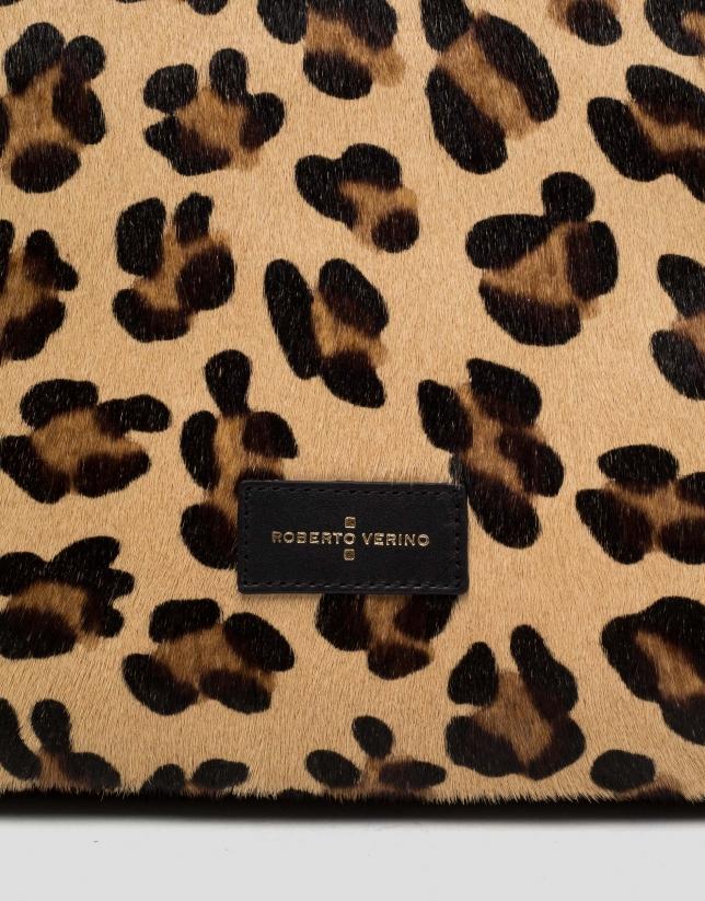 Bolso shopper maxi Wild animal print