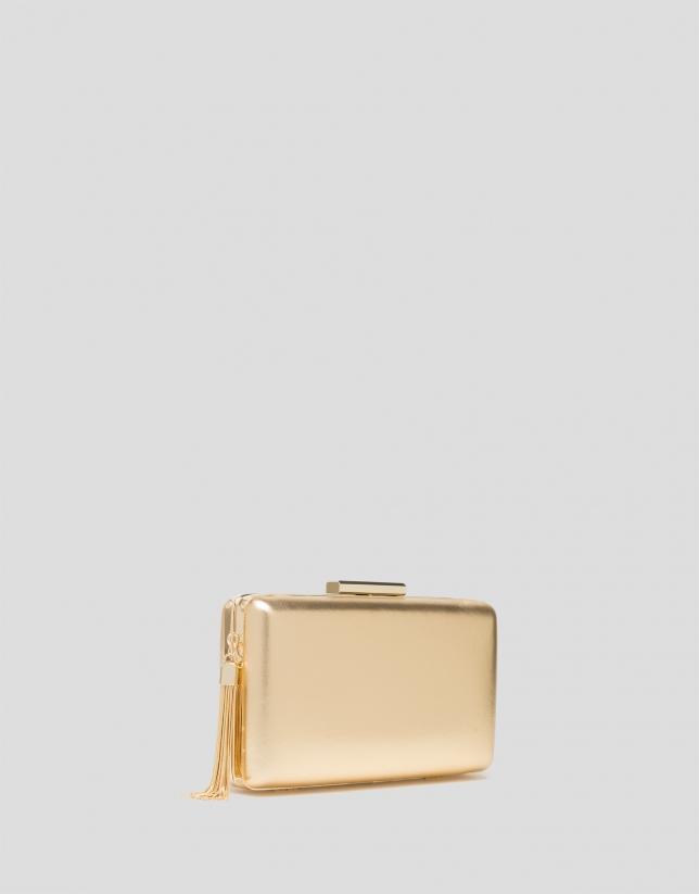 Bolso clutch RV dorado