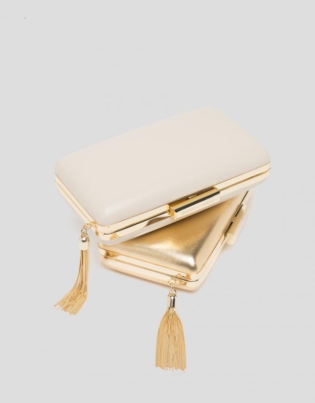 Pochette RV dorée