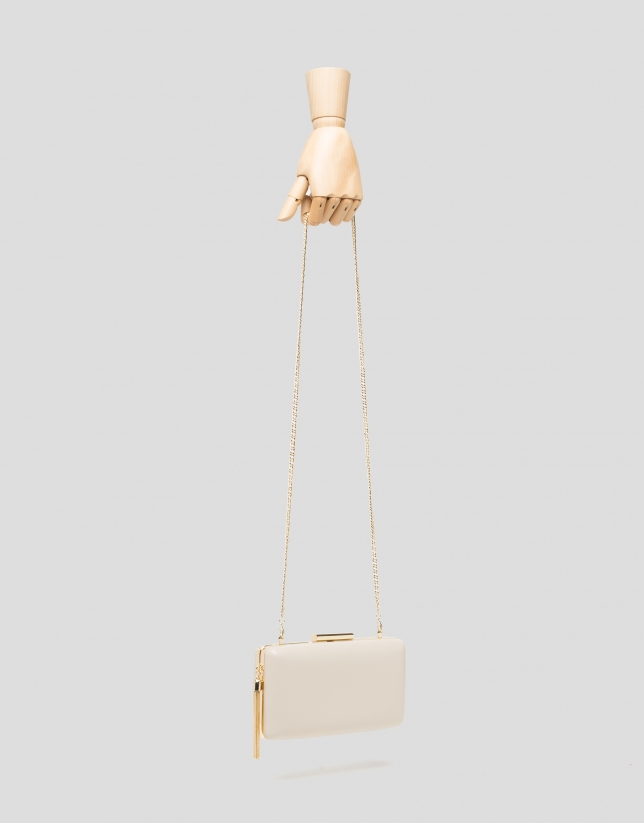 Bolso clutch RV natural