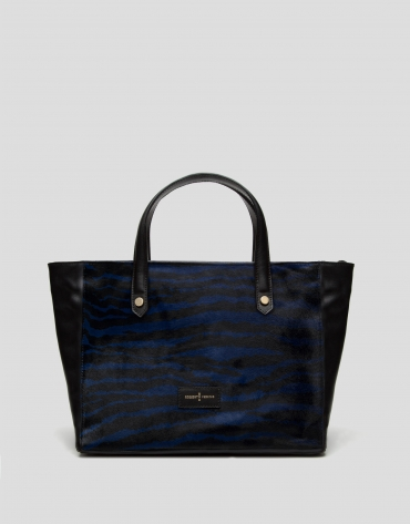 Blue Wild shopping bag