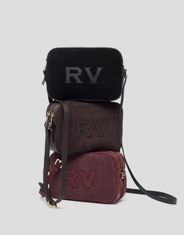 Testa di moro  leather Taylor Moss bag
