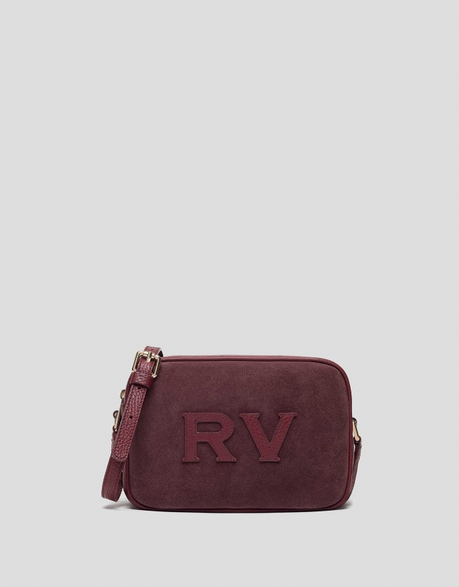 Bordeaux leather Taylor Moss bag