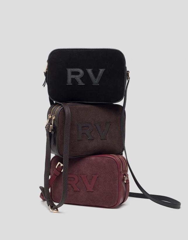 Bordeaux leather Taylor Moss bag