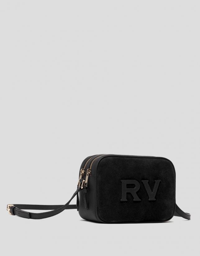 Black leather Taylor Moss bag