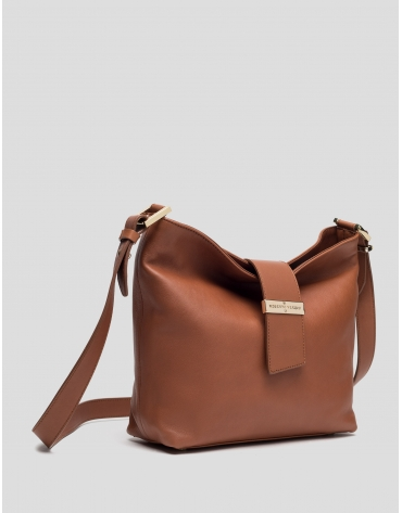 Brown Leather Victoria Cross bag